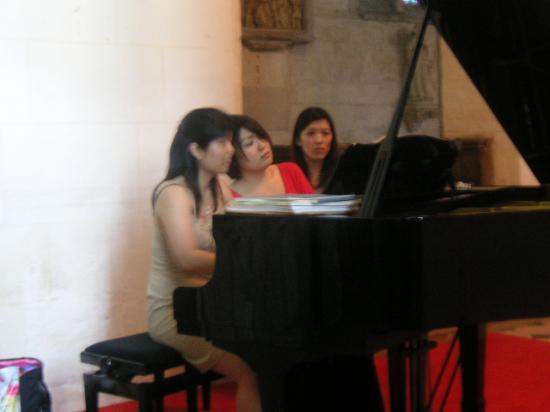 Les pianistes japonaises en rpétition